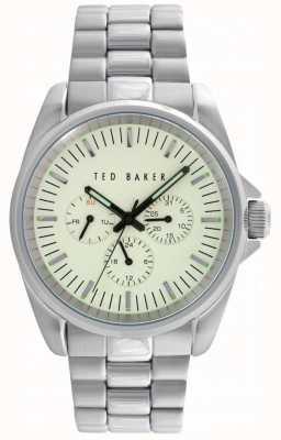 Ted Baker Para hombre de 42 mm con disco secundario 24 horas y la fecha TE10025264