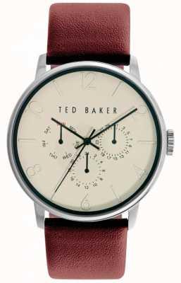 Ted Baker correa de cuero unisex de la presentación del día TE10029568