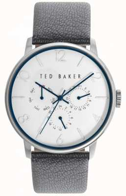 Ted Baker caso 42 mm unisex cara blanca TE10029567