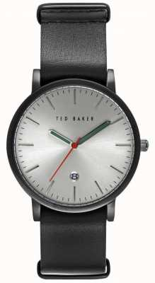 Ted Baker caso 40 mm para hombre con esfera de plata TE10026445