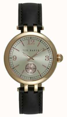 Ted Baker Señoras 36mm PVD chapado en oro TE10027797