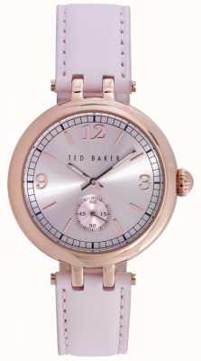 Ted Baker 36mm rgip caso de color rosa TE10023476