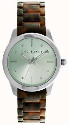 Ted Baker ss de línea de menta grn 36mm TE10025278