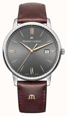 Maurice Lacroix El acero inoxidable de cuarzo cristal de zafiro EL1118-SS001-311-1