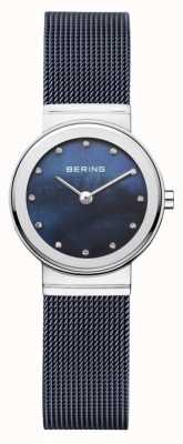 Bering línea azul marino de la correa azul marino Womans 10126-307