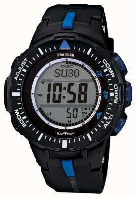 Casio Mens protrek correa de resina de alarma PRG-300-1A2ER