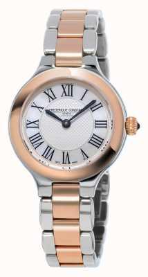 Frederique Constant Clásicos delicia para mujer pulsera de metal chapado en oro rosa FC-200M1ER32B