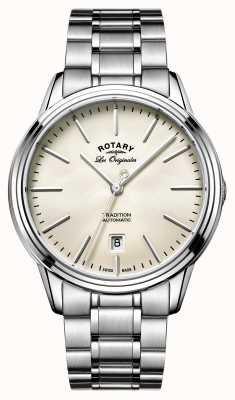Rotary Les originales reloj automático tradición de los hombres GB90161/32