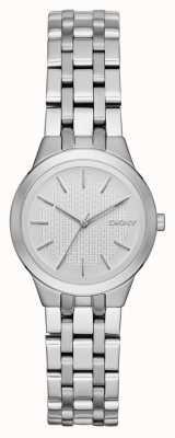 DKNY damas de Park Slope reloj de plata NY2490