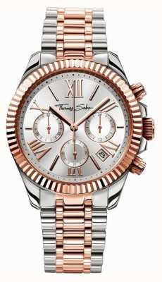 Thomas Sabo reloj de las mujeres crono divina WA0221-272-201-38