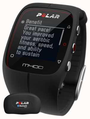 Polar gps unisex M400 Bluetooth (Negro con h) Control de actividad 90051341