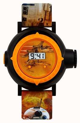 Star Wars reloj proyector Ab8 10 imágenes SWM3116