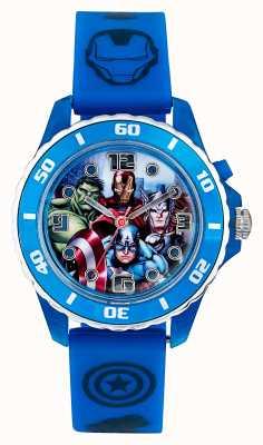 Dial de personaje de correa azul para niños Avengers AVG3506