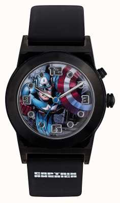 Avengers Correa negra para niños Capitán América CTA3121