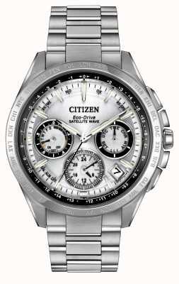 Citizen F900 onda satélite plata para hombre Eco-Drive CC9010-74A