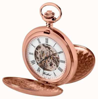 Woodford cazador de doble rosa reloj de oro 1090