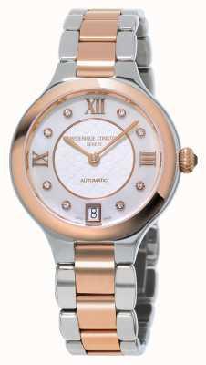 Frederique Constant Ex pantalla mujer delicia diamante dos tonos FC-306WHD3ER2B-EX-DISPLAY