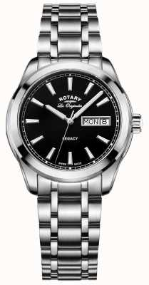 Rotary Mens les originales de acero inoxidable legado GB90173/04