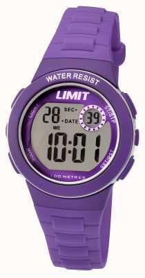 Limit Correa de resina púrpura digital para niños 5585.24
