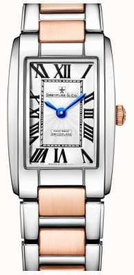 Dreyfuss La elegancia de dos tonos rosa reloj de oro DLB00147/01