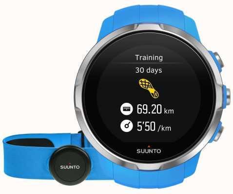 Suunto Spartan deporte azul (cinturón de hr) SS022652000