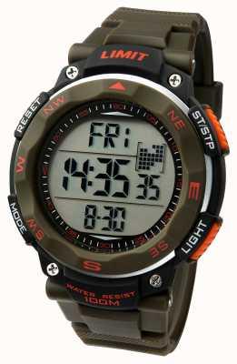 Limit Correa de color caqui del reloj del deporte del Mens 5488.01