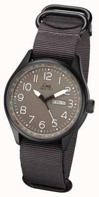 Limit Hombre gris piloto correa gris dial gris 5494.01