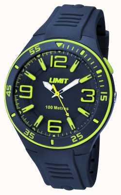 Limit Mens navy correa de la marina de marcación 5569.24