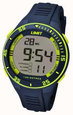 Limit Mens de la marina de guerra correa dial digital 5574.24
