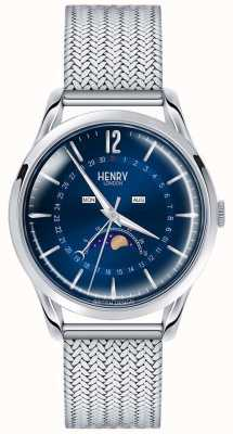 Henry London Acero inoxidable para hombre moonphase HL39-LM-0085
