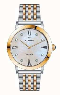 Eterna Reloj de dos tonos de la pulsera de la eternidad de las mujeres 2720.53.69.1739