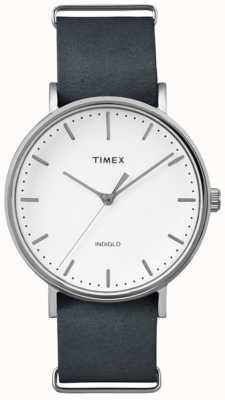 Timex Reloj unisex de fairfield blanco semanal TW2P91300