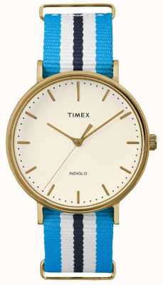 Timex Chaqueta unisex fairfax blanco azul TW2P91000