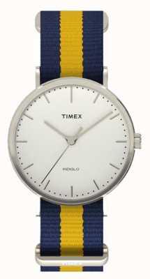 Timex Chaqueta unisex fairfax amarillo marino TW2P90900