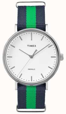 Timex Chaqueta unisex fairfax azul marino TW2P90800