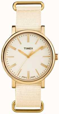 Timex Cremallera unisex cremallera tela correa TW2P88800
