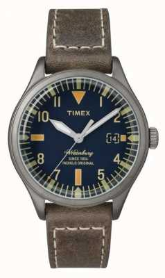 Timex Unisex la marina Waterbury marcar correa de color marrón TW2P84400