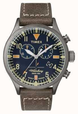 Timex Mens el dial waterbury cronógrafo navy TW2P84100