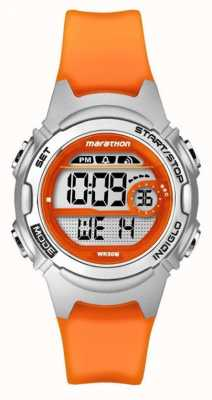 Timex Cronógrafo de alarma maratón niños naranja TW5K96800