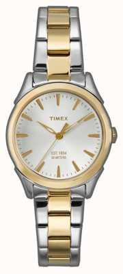 Timex Womans Chesapeake correa de dos tonos TW2P81900