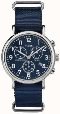 Timex Unisex cronógrafo de verano azul marino TW2P71300