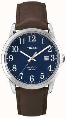 Timex Lector fácil azul del dial del Mens TW2P75900