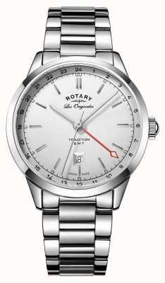 Rotary Reloj suizo de gmt de los hombres de la tradición GB90181/02
