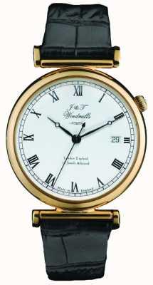 J&T Windmills Para hombre reloj de oro mecánico Bartolomé WGS50003/09