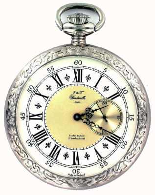 J&T Windmills Para hombre del reloj de bolsillo Milton WGP10001/50