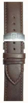 Elliot Brown Correa desplegable de cuero de señora 22mm marrón encerado solamente STR-L09