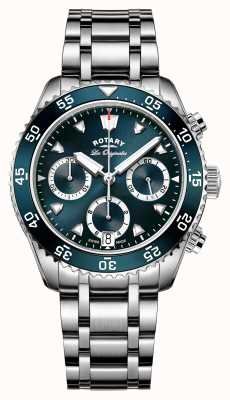 Rotary Mens swiss made legacy dive cronógrafo GB90170/05