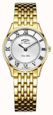 Rotary Les originales de línea blanca para mujer ultra delgado LB90803/01