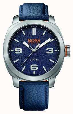 Hugo Boss Orange Correa azul del reloj de la ciudad del cabo de los hombres 1513410
