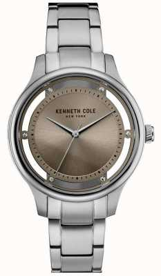 Kenneth Cole Pulsera de acero inoxidable KC10030795